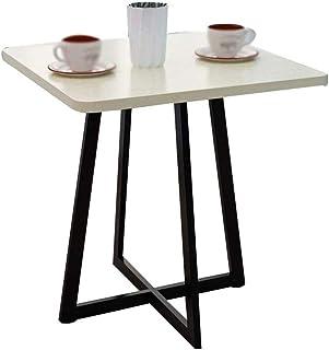 Coffee Table Meuble de bureau pratique, étanche, en métal antidérapant, durable, pour la maison, l'extérieur, les loisirs,...