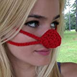 NOSE WARMER Red Nose Aunt Marty's Original Nose Warmer - Cold nose cover