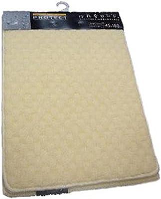 山崎産業 キッチンマット プロテクト ホワイト 45x120cm