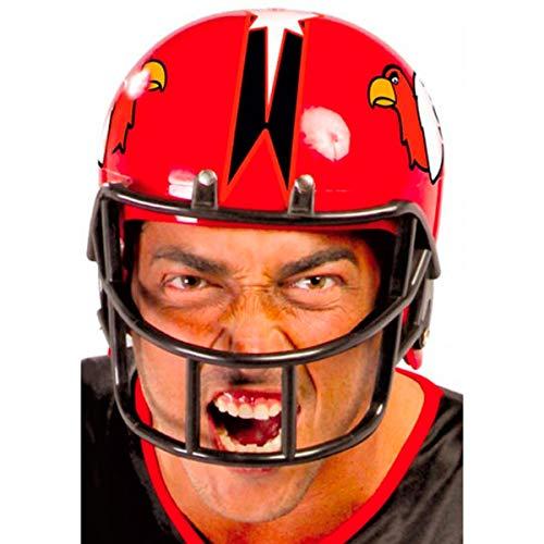 Guirca 13404 American Football Helm, Rot