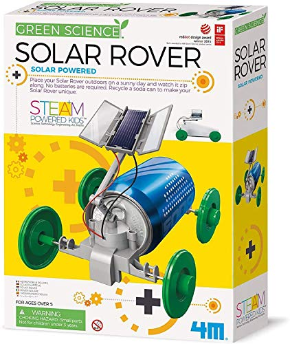4M 3782 Green Science Solar Rover Kit...