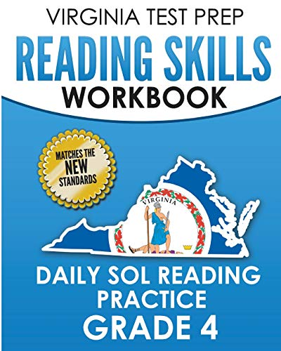 Compare Textbook Prices for VIRGINIA TEST PREP Reading Skills Workbook Daily SOL Reading Practice Grade 4: Preparation for the SOL Reading Tests  ISBN 9781725756533 by Hawas, V.