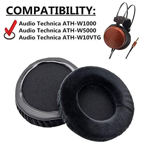 Almohadillas de Repuesto para Auriculares Beyerdynamic T51P T51i, Color Negro