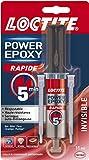 Loctite - 2297532 - Power Epoxy Rapid 5 min - Seringue de colle - Transparent - 11ml