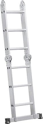 Escada Articulada em Alumínio, 3 x 4, Vonder VDO1927