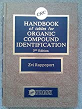 Handbook Tables For Organic Compound Identification, Third Edition
