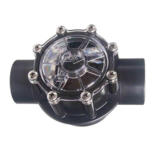 Custom 25830-814-000 5,08 cm SKT x 6,35 cm Spigot Noir CPVC clapet Anti-Retour