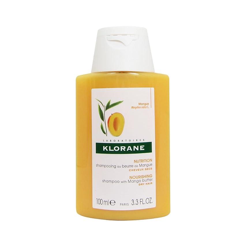 素子あごひげ鋼Klorane Mango Butter Shampoo 100ml [並行輸入品]