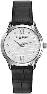 Pierre Cardin Womens Quartz Watch, Analog Display and Leather Strap PC108162F08