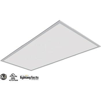 2 PACK 2/' x 4/' LED Panel Light 50W 5000K White Ceiling Retrofit Recessed UL DLC