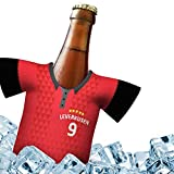Fan-Trikot-kühler Home für Bayer 04 Leverkusen Fans | DRIBBEL-KÖNIG | 1x Trikot | Fußball Fanartikel Jersey Bierkühler by Ligakakao
