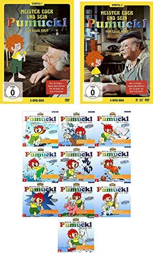 Pumuckl - Staffel 1+2 DVD + CD 1 - 10 im Set - Deutsche Originalware [10 DVDs/10CDs]
