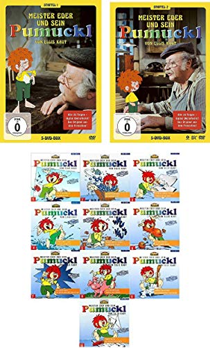 Pumuckl - Staffel 1+2 DVD + CD 1 - 10 im Set - Deutsche Originalware [10 DVDs/10CDs]