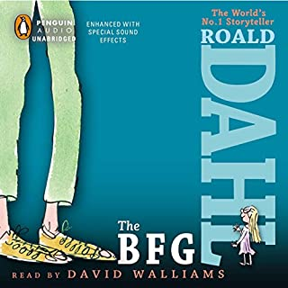 The BFG audiobook cover art