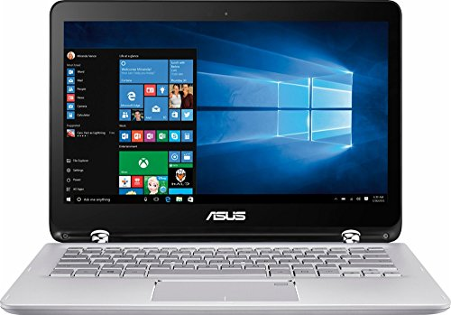 ASUS 2-in-1 13.3' Full HD Touchscreen Convertible Laptop PC, Intel Core i5-7200U 2.50 GHz, 6GB DDR4 RAM 1TB HDD Intel HD Graphics 520 Backlit Keyboard HDMI WIFI Webcam NO DVD Windows 10