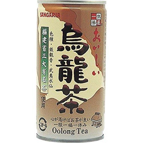 サンガリア おいしい烏龍茶 缶 190ml