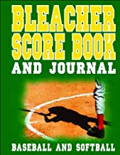 Bleacher Score Book and Journal - Baseball and Softball