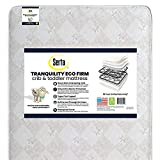 Serta Tranquility Eco Firm Innerspring Crib and Toddler Mattress | Waterproof |...