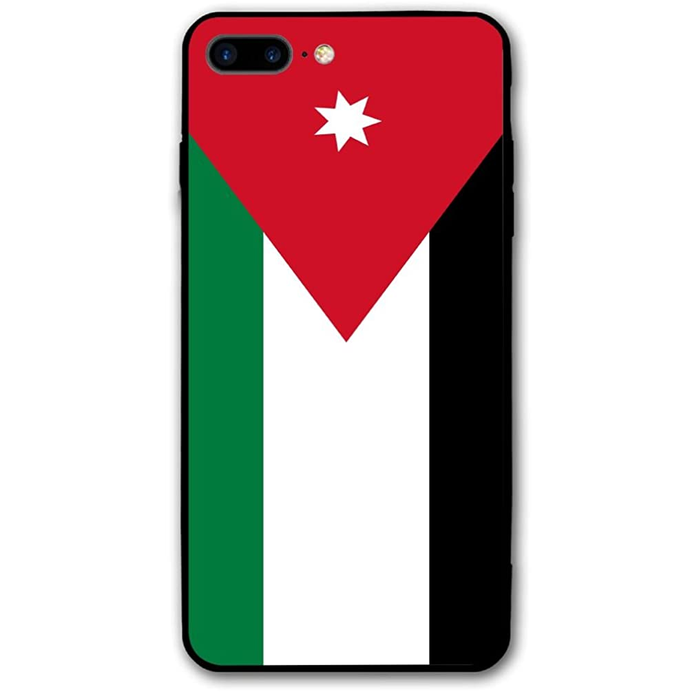 IPhone 8 Plus Case Flag Of Jordan Impact Resistant Protective Shell PC Material Cover Case For IPhone 8 Plus 5.5 Inch