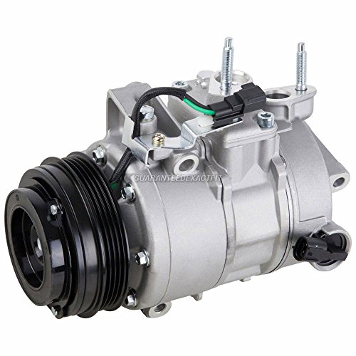 AC Compressor & A/C Clutch For Ford Explorer Taurus & Lincoln MKT EcoBoost 4-Cylinder - BuyAutoParts 60-03843NA New