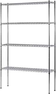 Sandusky Lee WS481274-C Industrial Welded Wire Shelving, 800lbs Capacity, 48