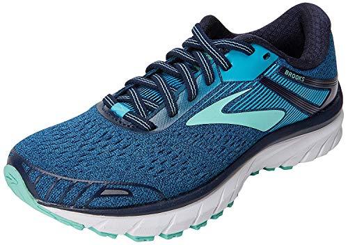 Brooks Adrenaline Gts 18, Women's Running Running Shoes, Blue (Navy/Teal/Mint 495), 4 UK (36.5 EU)