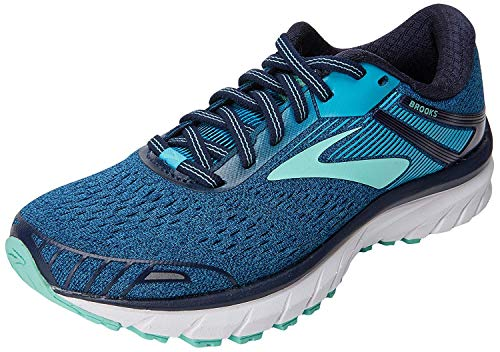 Brooks Damen Adrenaline Gts 18 Laufschuhe, Blau (Navy/teal/mint 1b495), 37.5 EU
