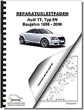 06-14 4 Zyl Typ 8J Audi TT 2,0l Benzinmotor Turbo 200 PS Reparaturanleitung