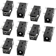DealMux 10 piezas de Tablet PC 2.5mmx0.7mm de alimentación de CC portuaria de carga de la placa base de conector Jack