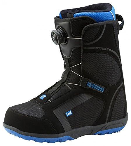 adidas Strike Boa D, Stivali da Neve Uomo, Nero (Schwarz), 44.5 EU