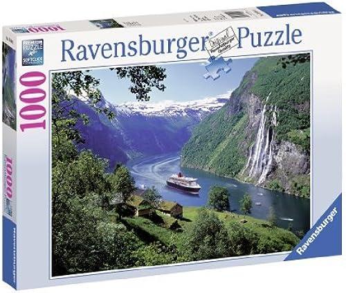 Ravensburger Norwegian Fjord 1000pc Jigsaw Puzzle by Ravensburger
