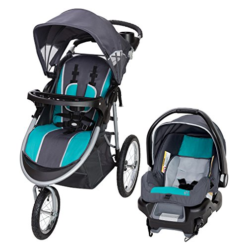 Baby Trend Pathway 35 Jogger Travel System, Optic Teal for $99.23