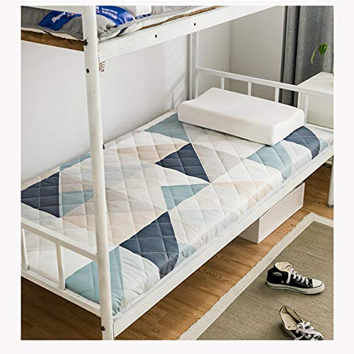 KIODS Tatami Mattress Thicken Student Dormitory Portable Futon Mat Foldable Kids Sleeping Pad Soft Camping Mattress for Adult 90×190cm,A,90×190cm
