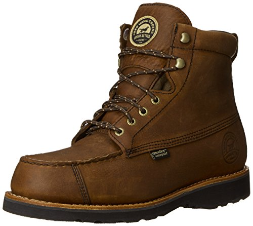 """Irish Setter mens 807 Wingshooter 7"""" Upland Boot hunting shoes, Dark Brown, 10.5 US"""