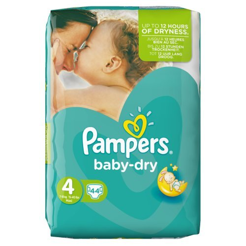 Pampers Baby Dry Size 4 Large Pack 62 Nappies