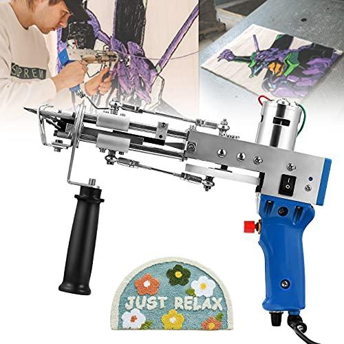 S SMAUTOP Pistola eléctrica para tejer alfombras,...