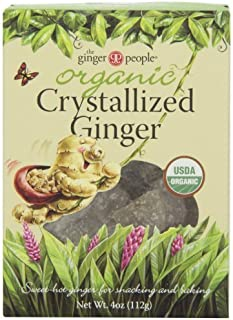 Ginger People Organic Crystallized Ginger Box 4 oz (Pack of 2)