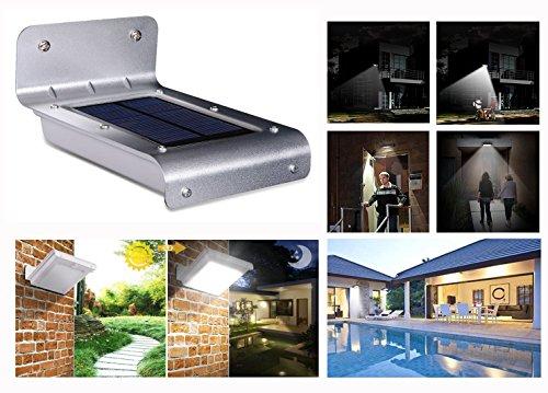 Solarlamp, inductielamp voor het menselijk lichaam, buitenwandlamp zonnelamp voor gazon, waterdicht led-lamp (platte kap)