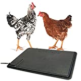 K&H Pet Products Thermo-Chicken Heated Pad Black 12.5' x 18.5' 40W