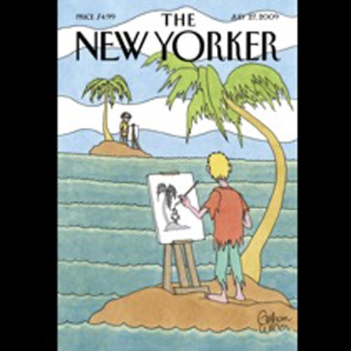 The New Yorker, July 27, 2009 (Calvin Trillin, Malcolm Gladwell, Nicholas Lemann) cover art