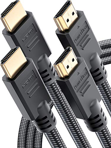 PowerBear 4K HDMI Cable 10 ft High Speed
