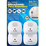 7. Bell + Howell Ultrasonic Pest Repeller Home Kit (Pack of 4), Ultrasonic Pest Repeller, Pest Repellent for Home, Bedroom, Office, Kitchen, Warehouse, Hotel, Safe for Human and Pet