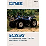 Clymer Repair Manuals for Suzuki LT250 Quadrunner 4X4 1987-1998