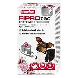 Beaphar FIPROtec COMBO Flea Tick & Lice Spot On Treatment for Dogs