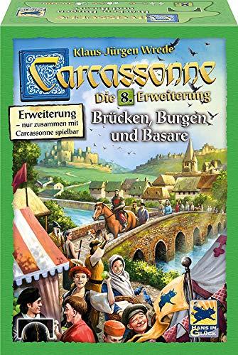カルカソンヌ:橋、城、バザール 拡張セット8 (2017年版) Carcassonne Erweiterung 8: Brucken, Burgen und Basare (2017 Edition) [並行輸入品]