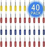 40 cuchillas de repuesto de 30/45/60 grados para plóter Roland Cricut Explore Air 2, 20 cuchillas de 45 grados, 10 cuchillas de repuesto de 30 grados, 10 cuchillas de 60 grados