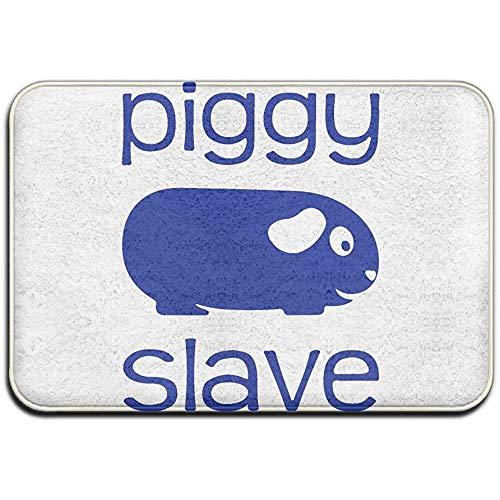 N/A Piggy Slave Outdoor Gummimatte Haustürmatten Veranda Garage Large Flow Slip Eingang Teppich Standard Teppich Home