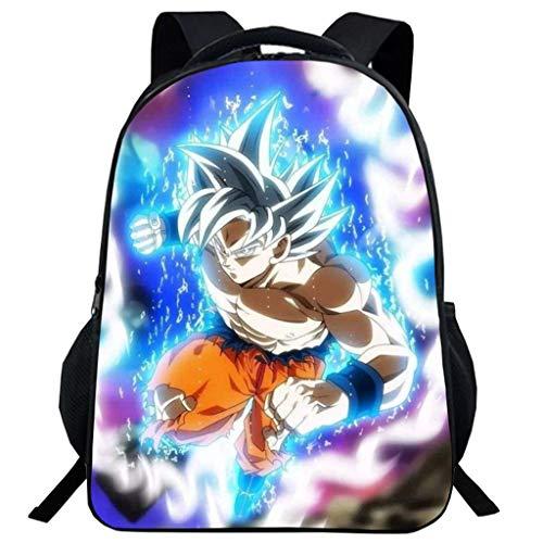 Mochila Dragon Ball Goku  Niño Adolescente Chicas Primaria Mochilas y Bolsas Escolares
