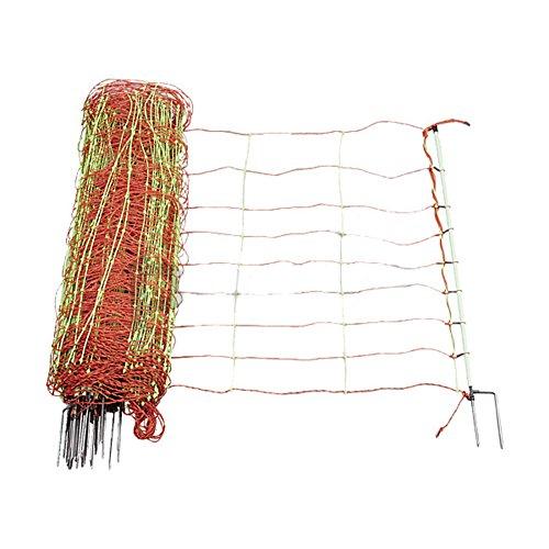 recinzione rete elettrica combi ' con doppio picco, alto 106 centimetri, 50 m - 110620