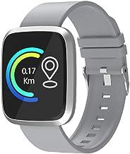 Smartwatch voor heren Hartslagmeter Sport Smart polsband Waterdicht Fitness Tracker-horloge